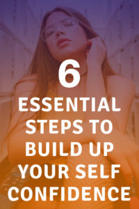 Build up your Self Confidence